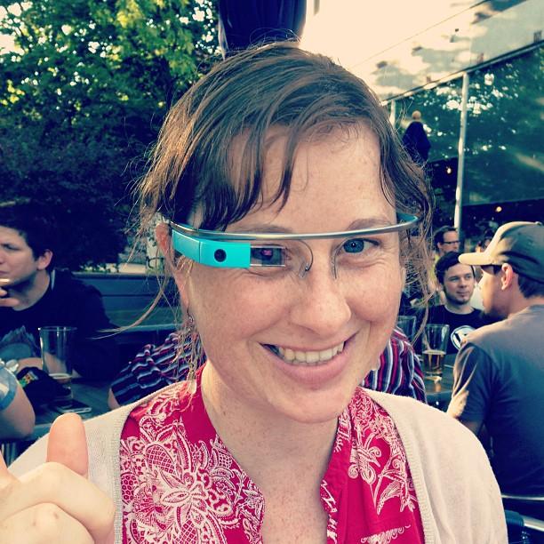 google glasses on lettergrade