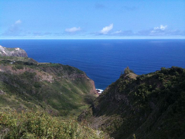 Northwest Maui view