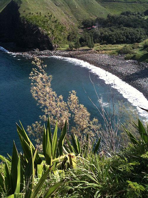 Northwest Maui cliff