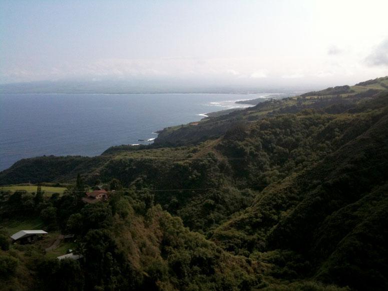 Northwest Maui shoreline